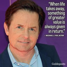 """The biggest thing I took away from a recent interview, was Michael's statement, """"My happiness grows in direct proportion to my acceptance and in inverse proportion to my expectations."""" http://spirituality-exploration-today.com/2014/04/14/spiritual-savvy-of-michael-j-fox/"""