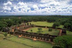 Ruinas de la Misión Jesuítica de San Ignacio (Patrimonio de la Humanidad). Misiones, Argentina