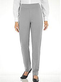 Flat Waist Essential Knit Pants