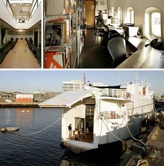 Car Ferry Converted into Hulking San Francisco Houseboat