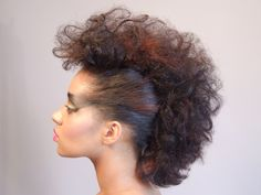 I think I did this in the 80's with banana clips! lol