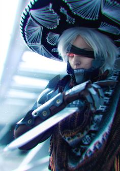 Some more Raiden by  me! Well, actually this suit goes on the shelf for I don't need it anymore :P  some day I will buy a mannequin for it Photo and edit by Alexander Turchanin  Craft and make up by Valara Atran (WhiteDemon19)