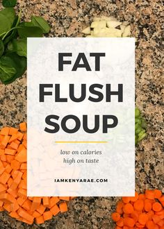 Making Progress & Pushing Faithfully to the Finish Line [Fat Flush Soup Recipe] I told y'all I got goals, and I am still pushing through to them. Here is my February fitness update plus a recipe for a favorite to help aid in the weight loss journey.