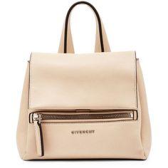 8ea0f465e30 Givenchy Pandora Pure Mini Waxy Satchel Bag (2 717 AUD) ❤ liked on Polyvore  featuring bags