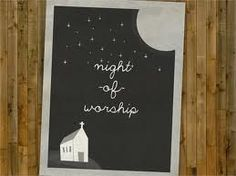 Image result for night of worship flyer template