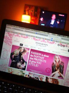 Screenshot www.tessakoops.com