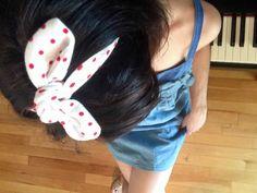 Bandeau extensible pour cheveux avec boucle par ALACOEURFONTAIME