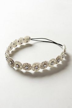 Beautiful jeweled headband -- perfect accessory for #dinerenblanc!