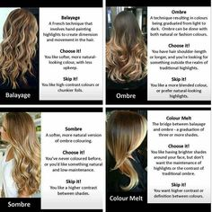 This is one of the best break downs I've seen in a while great for clients and stylist alike #regram #cosmoprof #colors #hair #hairenvy #balayage #sombre #ombre #colormelt #coloreducation