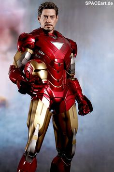 The Avengers: Iron Man Mark VI - Movie Promo Edition, Voll bewegliche Deluxe-Figur ... http://spaceart.de/produkte/nes011.php