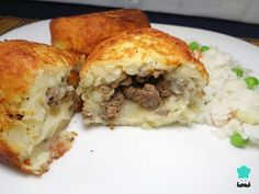 Aprende a preparar croquetas de papa con carne molida y queso con esta rica y fácil receta. ¿Se te antoja algo diferente para la comida pero ya no quieres lo mismo d...