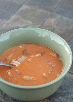 Leftover Crawfish Boil Soup
