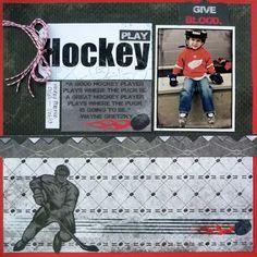 Play Hockey - Moxxie - Scrapbook.com