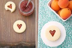Baking love with these shortbread cookies