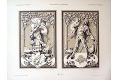 German Allegorical Decorations