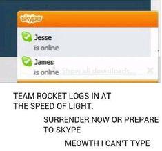 Team Rocket Skype   Pokémon   Know Your Meme