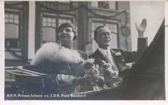 queen juliana & prince bernard of netherlands