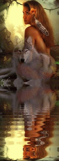 I love Wolves!! And I feel I was a Indian princess in a past life!!