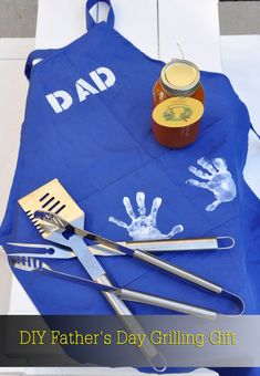 DIY Father's Day Grilling Gift via @Caryn Bailey