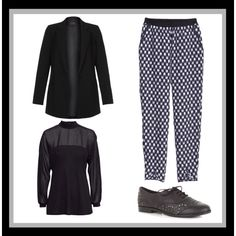 """""""Sixth Form Outfit Ideas"""" by vintagerocker on Polyvore"""