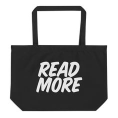 Get rid of all the plastic and pack your goodies in this spacious organic cotton tote bag. Fill it up with groceries, books, and travel essentials—there's room for everything! Cotton Tote Bags, Reusable Tote Bags, Read Sign, Travel Essentials, Fabric Weights, Read More, Organic Cotton, Campaign, Medium