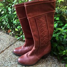 Fossil Boots Really good condition just slight leather softening from use, and a few scuffs. Fossil Shoes
