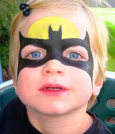 Simple Face Paint Designs For Boys Halloween face painting
