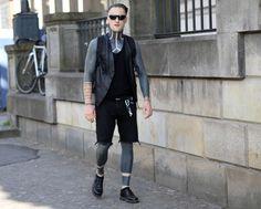#style #streetstyle #fashion #streetfashion #street #fashionweek #berlin #mbfw #mbfwb #moda #mode #black #tattoo #allblack #man #men #male