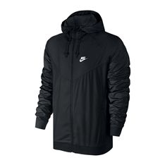 Nike Men s Windrunner Colorblocked Jacket - Black S c98b8b1f1