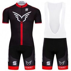 Mens Road Bike Cycling Jersey Bib Shorts Kits Short Sleeve Padded Cycle  Outfits  Unbranded   a208bbc73