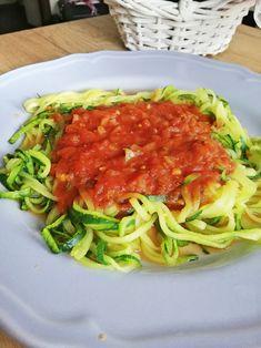 Post Dąbrowskiej - co jeść? Jadłospis na cały tydzień | Inspirująca XL-ka Spaghetti, Zucchini, Ale, Cabbage, Food And Drink, Soup, Menu, Healthy Recipes, Diet