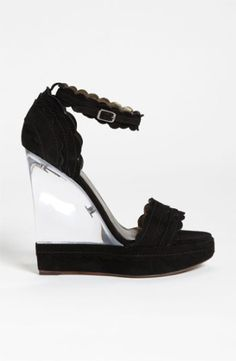 Lanvin Lucite® Wedge Sandal | Nordstrom