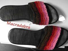 #Sandalias #Macrame