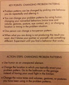 change dating patterns