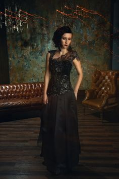 Evening Dresses, Formal, Model, Hair, Fashion Design, Style, Creative, Deco, Evening Gowns Dresses