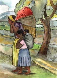Learn more about The Flower Seller 1941 Diego Rivera - oil artwork, painted by one of the most celebrated masters in the history of art. American Sales, American Art, Writing Art, Hand Writing, Frida And Diego, Diego Rivera, Cubism, Rice Paper, Asian Art