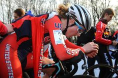 Ellen Noble after the Namur World Cup race (she was 18th)