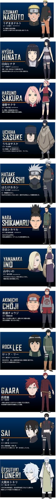 After yesterday's epicThe Last: Naruto the Movie Trailer 4, the thirst for Naruto's 2014 big screen debut is greater than ever! Today, enjoy 12 full color designs for Naruto and o...