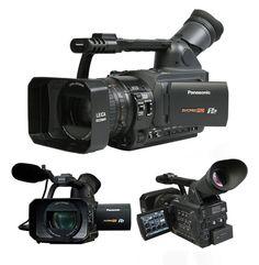 Filmadora Panasonic AG-HVX200P NTSC por apenas US$4.510,00 na Loja Master 10