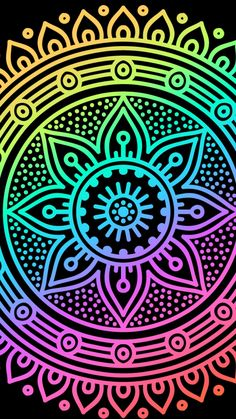 Keep calm and love colors Cute Wallpaper For Phone, Cellphone Wallpaper, Colorful Wallpaper, Cool Wallpaper, Pattern Wallpaper, Mandala Drawing, Mandala Painting, Cute Backgrounds, Wallpaper Backgrounds