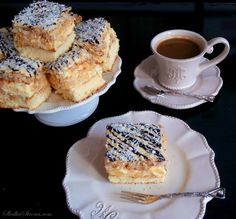Ciasto Ananasowo-Kokosowe - Przepis - Słodka Strona Sweet Recipes, Cake Recipes, Polish Recipes, Polish Food, Traditional Cakes, Food Cakes, Pavlova, Something Sweet, International Recipes