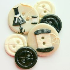 Beautiful handmade buttons!