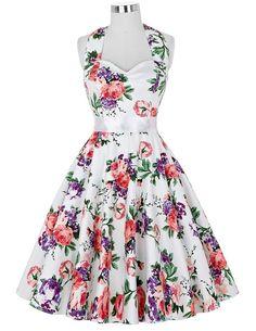 Süsses Blümchenkleid Vintage Kleid