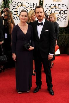 The Fassbender brother and sister, 2014 Golden Globes. Fassbender's irish mother is descended from Michael Collins, irish independence hero. Is there any relationship with him acting as Bobby Sands ?