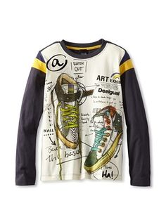 49% OFF Desigual Boy's Raglan T-Shirt