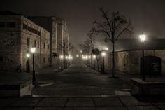 Foggy night  by Daniel de Arriba (Salamanca, Spain)