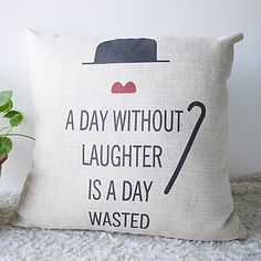 Decorative Pillow Cover Only my fave saying, ever! I NEED this pillow!!