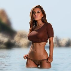 Seksowna brunetka Sexy brunette