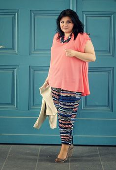 CONQUORE · The Fatshion Café | Plus Size Blog: Chic Harem Pants · plus size outfit