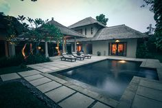 two bed room private pool villa exterior   #baliprivatevilla #thegangsa #bali #privatevilla  www.kayumanis.com